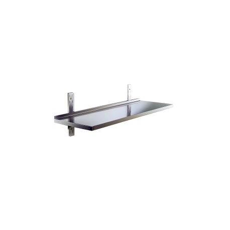 Mensole Acciaio Per Cucina Usate.Mensola In Acciaio Inox 100 Aisi 304 Mm 1200x400