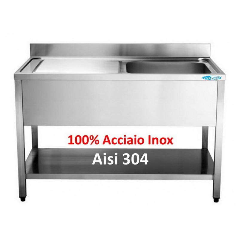 Lavandino Acciaio Inox Usato.Lavelli Inox Attrezzature E Forniture Professionali Per La