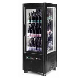 Cantinetta Espostiva con RUOTE per Vini refrigerazione Ventilata