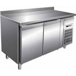 Tavolo Refrigerato GN2200TN 2 Porte - 2° + 8° Con Alzatina 1360 x 700 x 850
