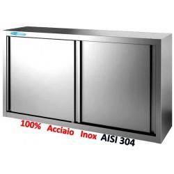 Pensile Armadiato Inox 130x40x66