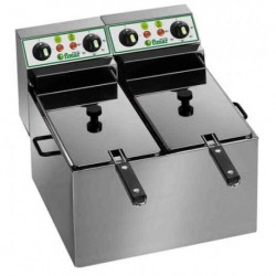 Friggitrice Professionale Elettrica 8+8 lt FR88