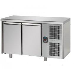 Tavolo Refrigerato  2 Porte  60x40 per PASTICCERIA Linea MID MASTER