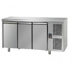 Tavolo refrigerato 3 porte 60x40 per pasticceria linea mid master