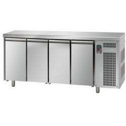 Tavolo refrigerato 4 porte professionale linea mid master