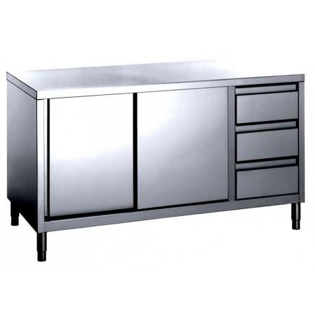 Tavoli armadiati inox attrezzature e forniture - Tavoli inox per ristorazione ...