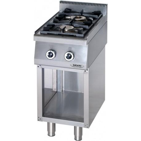 Cucine a gas attrezzature e forniture professionali per la ristorazione lavasystem - Cucina a gas due fuochi ...