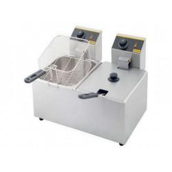 Friggitrice Professionale Elettrica 3+3 Litri