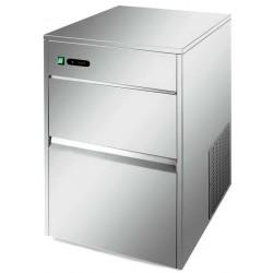 Produttore di ghiaccio a cubetti 26 kg/24 h raffreddamento ad aria