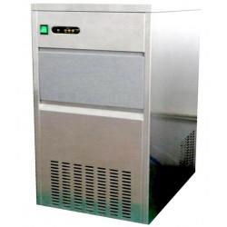 Produttore di ghiaccio a cubetti 50 kg/24 h raffreddamento ad acqua