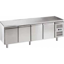 Tavolo Refrigerato 2 PORTE ( - 2° + 8° ) Ventilato 1360 x 700 x 850 LINEA EKO