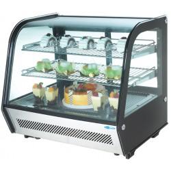 Vetrina Refrigerata con Luci a Led 160 lt