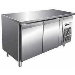 Tavolo refrigerato GN2100TN 2 porte ( - 2° + 8° ) ventilato mm 1360 x 700 x 850