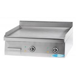 Frytop Professionale Elettrico da Banco PIASTRA RIGATA Linea 70 Dim. 800x70x28